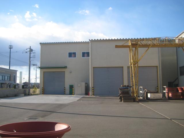 機械工場・新工場外観